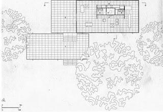 architecture interior design the farnsworth house. Black Bedroom Furniture Sets. Home Design Ideas