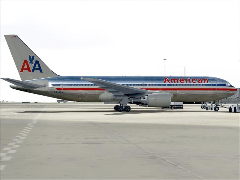 American Airlines 767-200 | FS Brasil Master