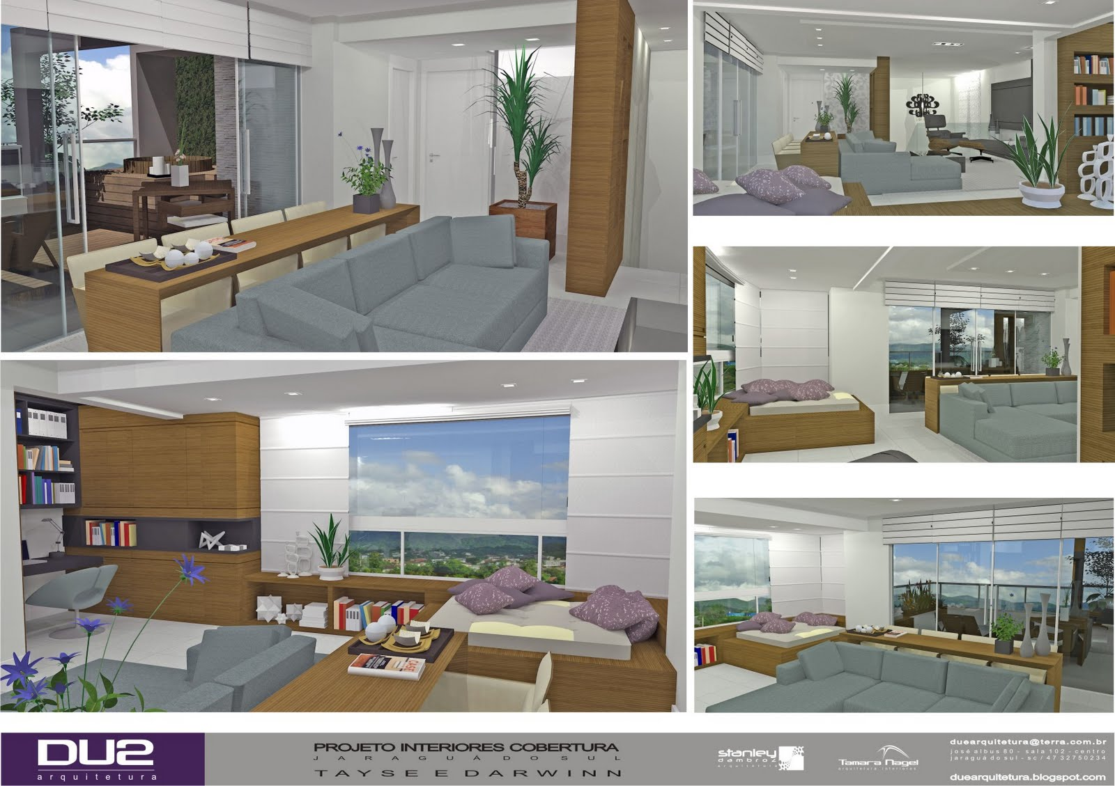 Excepcional DUE ARQUITETURA: Projeto Interiores Duplex - Parte II PX08
