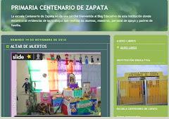 BLOG ESCUELA CENTENARIO DE ZAPATA