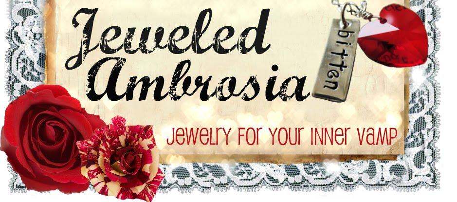 Vintage Vampire Inspired Jewelery
