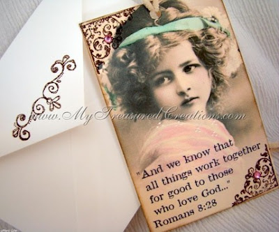 vintage bible passage bookmark collage