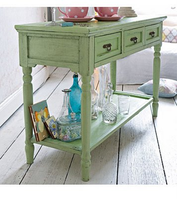 [shabby+chic+table+green]