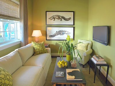 green black alligator decor interior room design