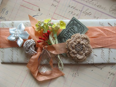 millinery flowers, vintage, gift wrapping, creative craft, bow, ribbon, lace, pastels