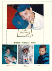 "Dustin's ""Hello Book"" Cover"