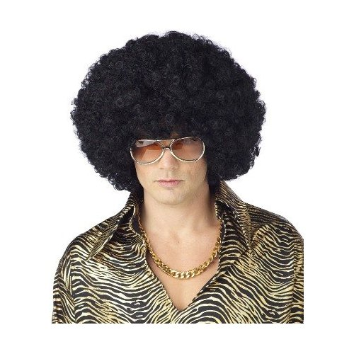 hair wigs mens disco afro wig