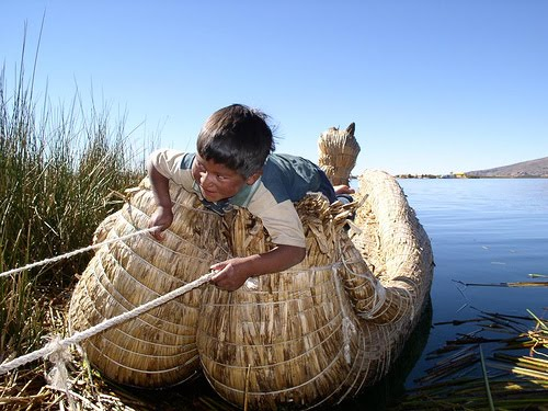 The Floating Islands of Lake Titicaca 11