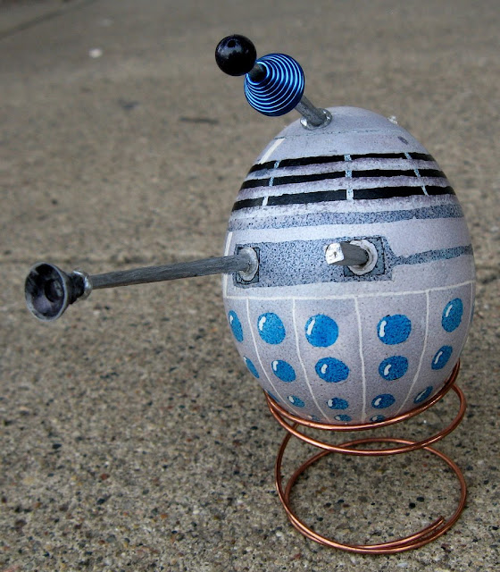 Dalek Made From An Egg Eggsterminate Kuriositas