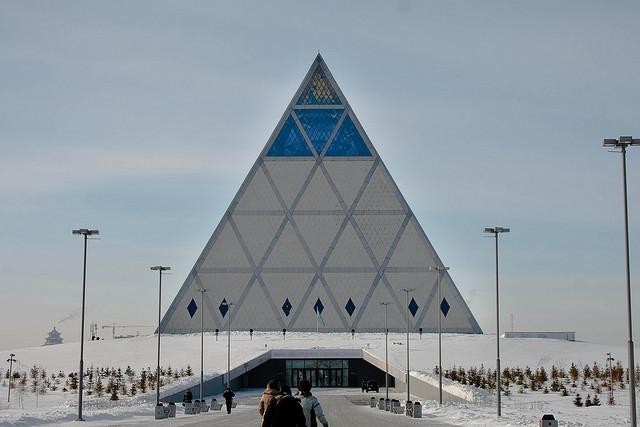 استانة - عاصمة كازاخستان الطموحة