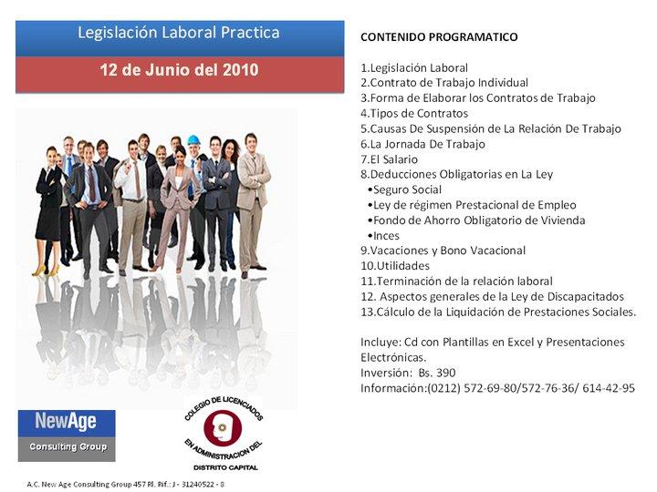 legislacion laboral en venezuela: