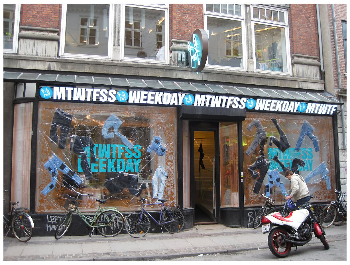 Make Room Mtwtfss Weekday Shop In Cph