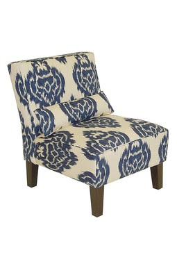 Anything With Ikat Is Always Going To Be A Winner And I Especially Love The  Blue. The Yellow Chair Is Also So Bright And Playful.