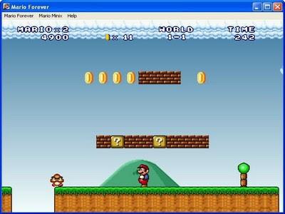 Smack Downloads - Mario Forever Portable