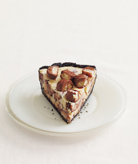 For example, try making this Twix Cheesecake Pie . Mmm, Twix bars are ...