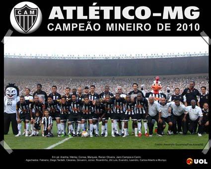 Campeão Mineiro 2010 - Atlético Mineiro