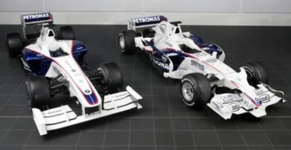 F1 antes e depois