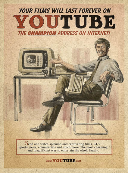 Anúncio Vintage You Tube