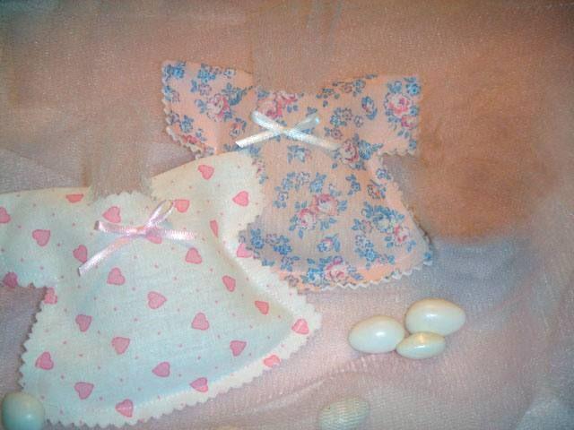 Souvenirs nacimiento vestiditos
