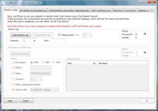 airowizard Cara hacking wifi dengan AiroWizard