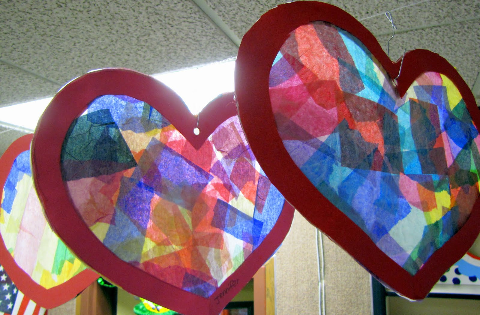 Our small town idaho life leprechauns stain glass and for Preschool crafts for february