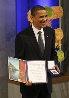 Full text of Obama's Nobel Peace Prize speech