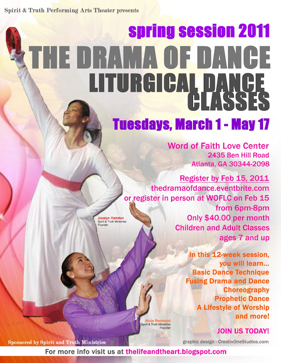 ANNOUNCING LITURGICAL DANCE CLASSES