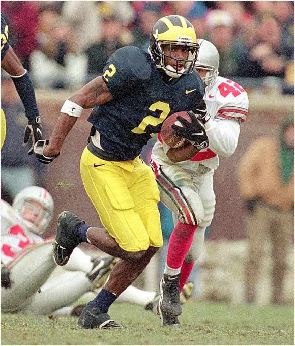 Former Michigan Athlete Of The Week Charles Woodson