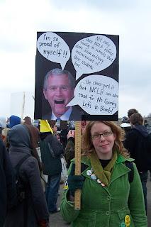 Pentagon Protester 2007