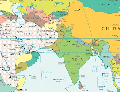 blank map of asia with countries. lank map of asia with