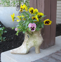 Victorian Boot Planter