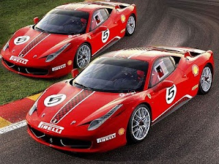 2011 Ferrari Sports Cars 458 Challenge 4497 cc V8 Engine