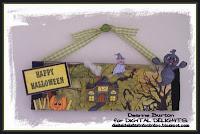 Deanne's Halloween Banner Tutorial