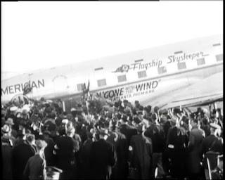 El DC3 que llevó a Gable a Atlanta