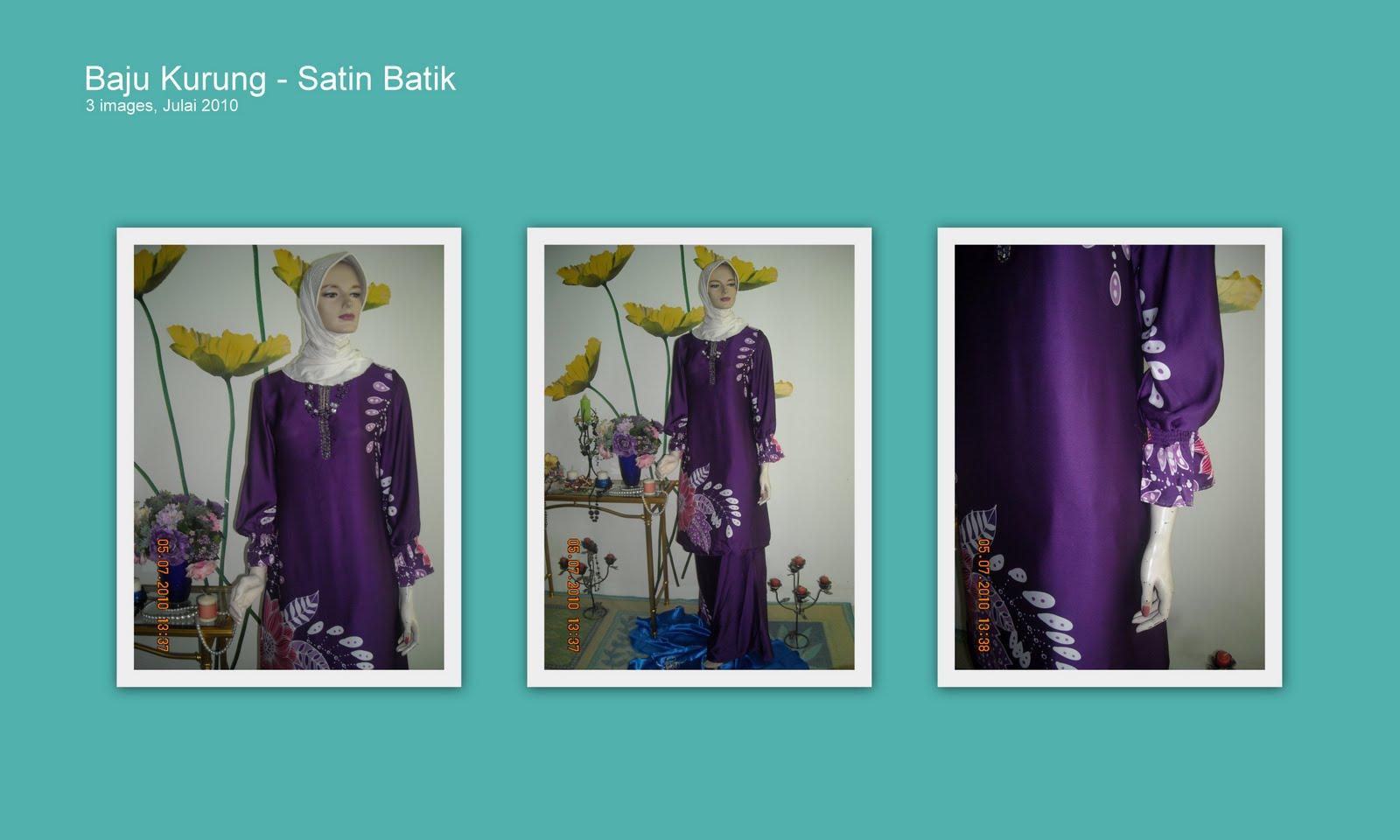 Gambar Awek Baju Kurung Satin Scare666com