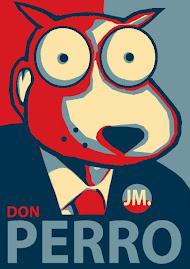 Mi can-didato es Don Perro