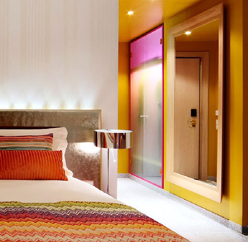 Icon interiors boutique hotel design influences for Interior decoration and design influences