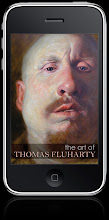 the art of Thomas Fluharty iPhone App