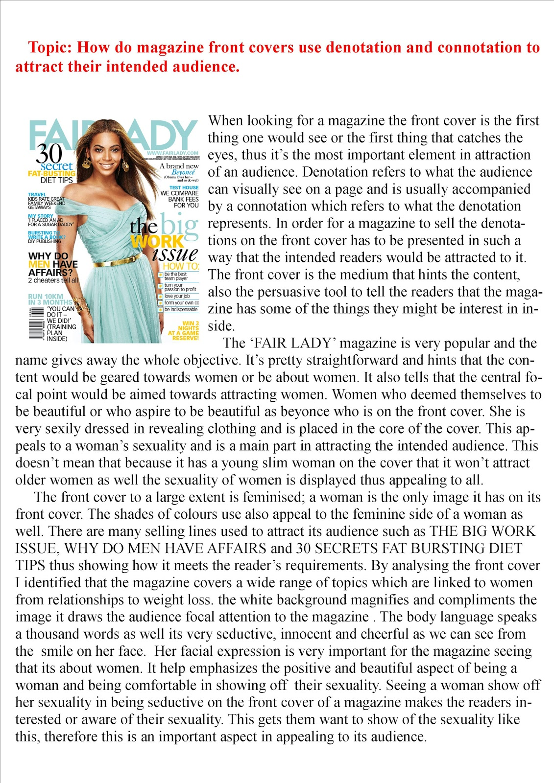 how cosmopolitan targets its intended audience On tuesday, walmart announced that it would remove cosmopolitan from checkout lines at its 5,000 locations across the us, in what i interpret (probably incorrectly) to be its corporate stance against women learning 902384 moves, which will make him bellow yas.