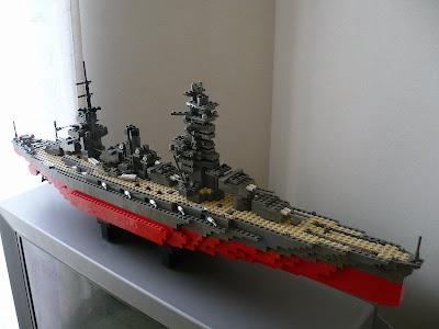 Lego Moc Japanese Battleship Fus