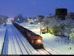 η πόλη του φωτός χιονισμένη