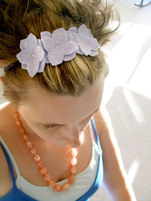 Summery Felt Headbands
