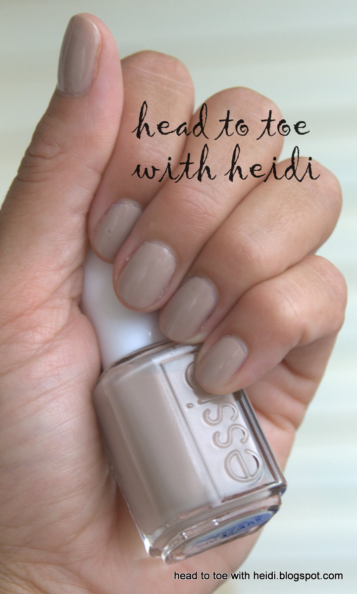 Head to Toe with Heidi: The Nail Files - Essie Love