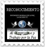 """RECONOCIMIENTO DE """"LA PAZ ERES TÚ"""" PARA TODOS LOS QUE ESTÁIS INSCRITOS EN EL BLOG, RECÓGELO"""