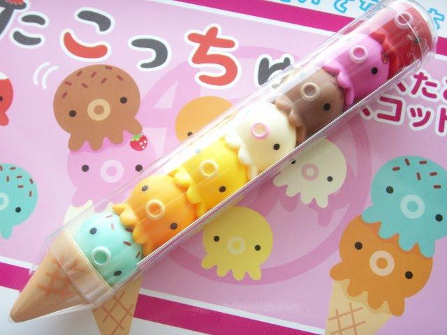 Cute Japanese Toys : Kawaii japan cute ice cream takochu set japanese toy