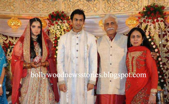 Latest News Pictures Of Sania Mirza Shoaib Malik Reception View Photos And Video