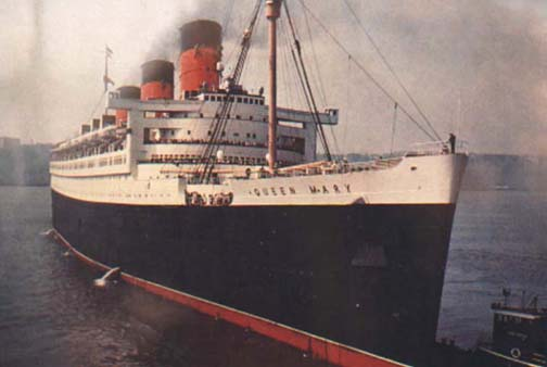 Apologies To The Queen Mary. surrounding apologies to