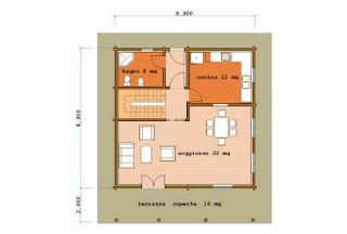 Progetti case in legno case da sogno con interni in legno for Piani casa bungalow con cantina e garage