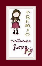 PREMIO A ESTE BLOG: CAMINAMOS JUNTAS