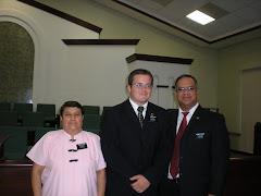 With President Velasco